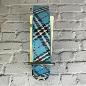 DOGUE | Plaid Collar in Blue